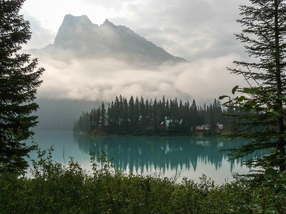 Emeral Lake am Morgen